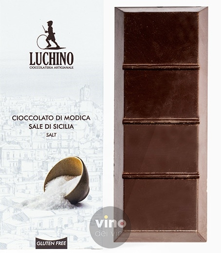 Cioccolato di Modica - Sale integrale di Trapani