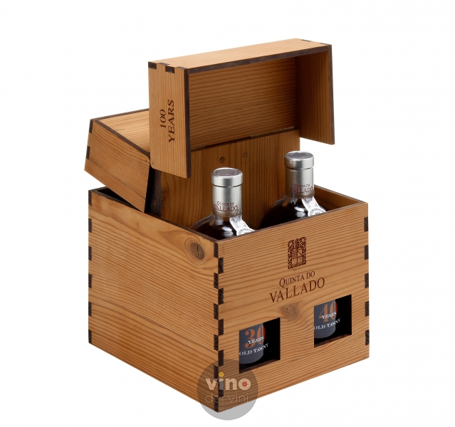 Quinta do Vallado 100 Years Box Tawny Port